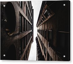 Between Buildings In Saint Louis Acrylic Print by Dylan Murphy
