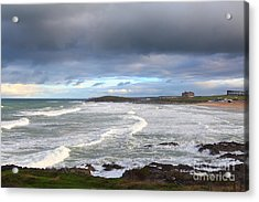Acrylic Print featuring the photograph Between Cornish Storms 1 by Nicholas Burningham