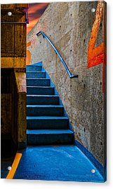 Between Four And Five Acrylic Print