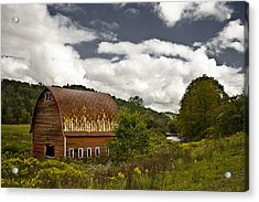 Between Acrylic Print by Mike McMurray