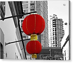 Acrylic Print featuring the photograph Between Old And New by Cendrine Marrouat