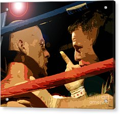 Between Rounds Acrylic Print by David Lee Thompson
