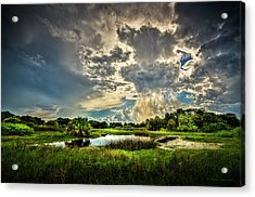 Between Storms Acrylic Print