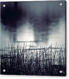 Acrylic Print featuring the photograph Between The Waters by Trish Mistric