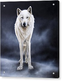 'between The White And The Black' Acrylic Print