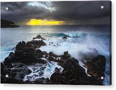 Acrylic Print featuring the photograph Between Two Storms by Ryan Manuel
