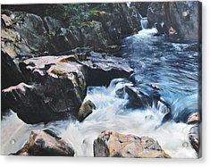 Betws-y-coed Waterfall Acrylic Print