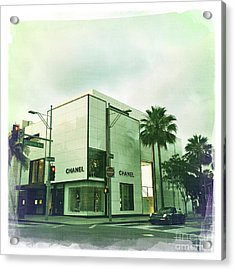 Beverly Hills Rodeo Drive 13 Acrylic Print