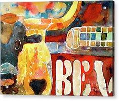 Bevo Unplugged Acrylic Print