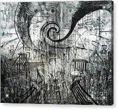 Beware Of Darkness Acrylic Print
