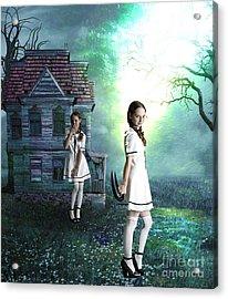 Beware The Evil Twin Acrylic Print