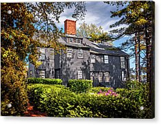 Bewitching Salem Acrylic Print by Carol Japp