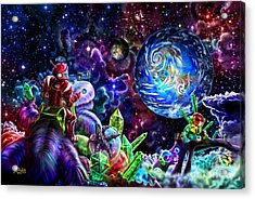 Beyond Barsoom Acrylic Print by Nigel Andreola
