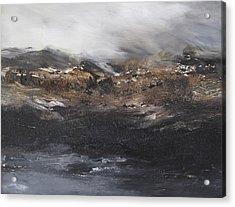Beyond The Cliffs Acrylic Print