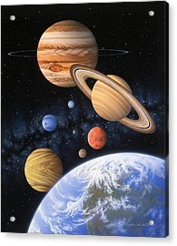 Beyond The Home Planet Acrylic Print