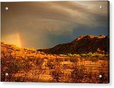 Beyond The Rainbow Acrylic Print