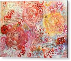 Beyond The Trellis Acrylic Print