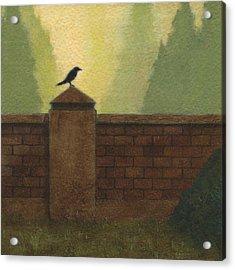 Beyond The Wall Acrylic Print
