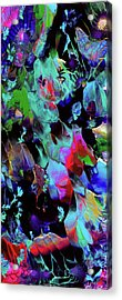 Beyond The Webbed Galaxy Acrylic Print