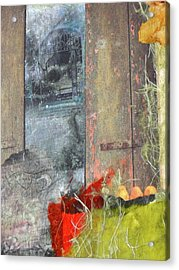 Beyond The Window Acrylic Print