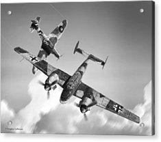 Bf-110c Zerstorer Acrylic Print
