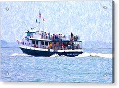 Bhi Ferry Acrylic Print by Betsy Knapp