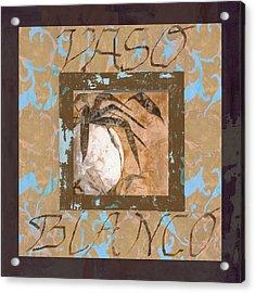 Bianco Vinaccia Acrylic Print by Guido Borelli