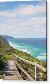 Acrylic Print featuring the photograph Bibbulmun Track Albany Wind Farm by Ivy Ho