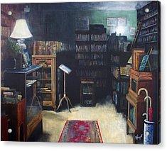 Bibliopoly Acrylic Print by Victoria Heryet
