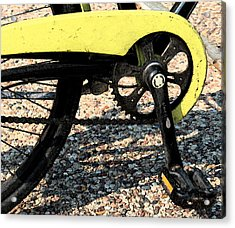 Bicycle 2 Acrylic Print by Gary Everson