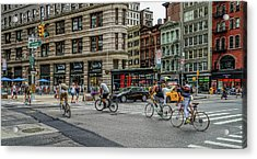 Bicycle Ballet  Acrylic Print