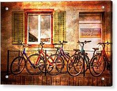 Bicycle Line-up Acrylic Print