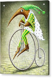 Bicycle Acrylic Print by Lolita Bronzini
