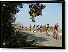 Bicycle Race Acrylic Print by Arik Baltinester