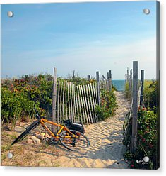 Bicycle Rest Acrylic Print