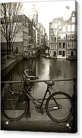 Acrylic Print featuring the photograph Bicycle by Scott Hovind