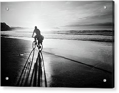 Bicycles Are For The Summer Acrylic Print