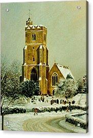 Biddenden Church Acrylic Print