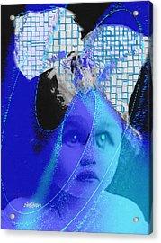 Biddidi-bobbidi-blue Acrylic Print