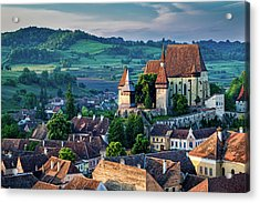 Biertan Church Dawn - Romania Acrylic Print