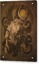 Demons Of Goetia - Bifrons Acrylic Print by Cambion Art