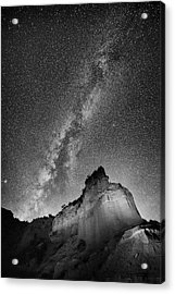 Acrylic Print featuring the photograph Big And Bright In Black And White by Stephen Stookey