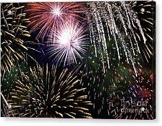 Big Bang Fireworks Acrylic Print