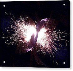 Big Bang Acrylic Print by Jerry Browning