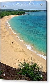 Big Beach Acrylic Print by Pierre Leclerc Photography