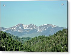 Big Belt Mountains Acrylic Print by Todd Klassy