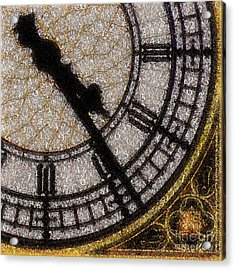 Acrylic Print featuring the photograph Big Ben Clock Color By Numbers 20161115v2 by Wingsdomain Art and Photography