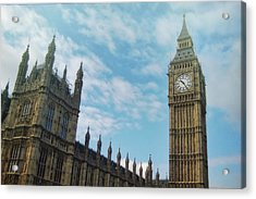 Big Ben Acrylic Print by JAMART Photography