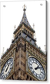 Big Ben Acrylic Print by Peter Funnell