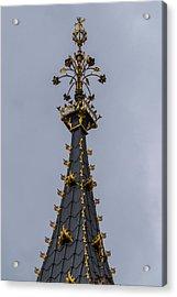 Big Ben Top Acrylic Print